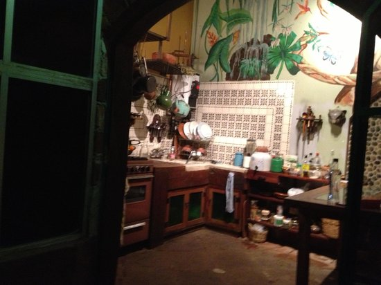 La Casa del Arrayan: La cocina
