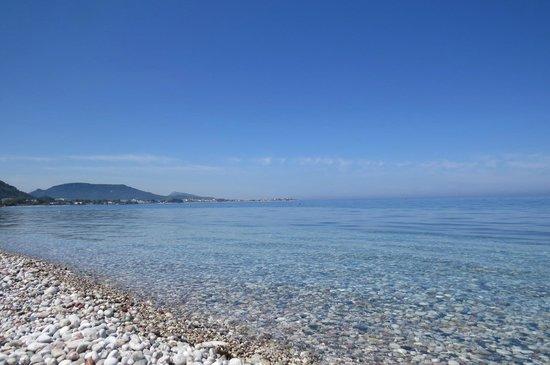 Dionysos Hotel: Ixia Beach (5min walk)