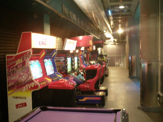 The Pepsi Trocadero : Some Remaining Arcade Games