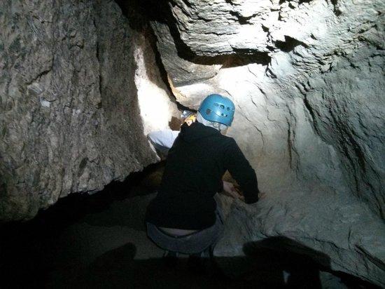Cuevas de Sorbas : Dentro