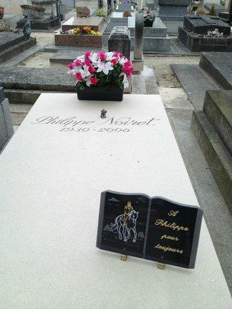 Cimetière du Montparnasse : Philippe Noiret