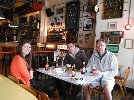 Bar Kick : Good choice of beers