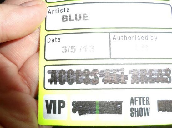 Shepherd's Bush Empire : VIP pass