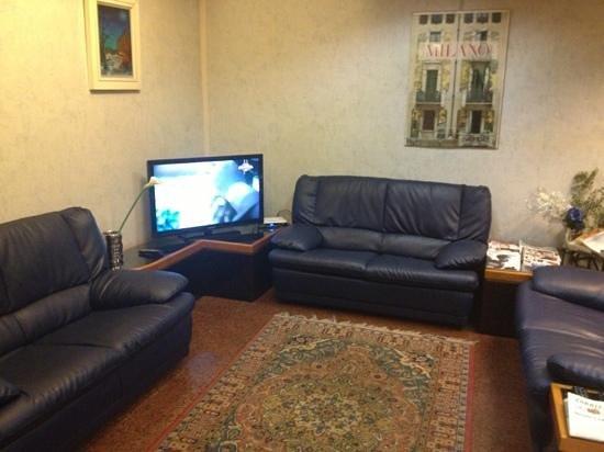 Lido Hotel: sala tv