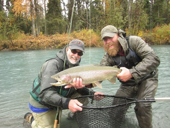 Hope, AK: Rainbow Trout, Late September, Kenai River