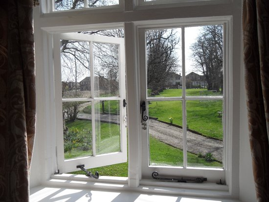 Molland Manor House: View over the front of the house