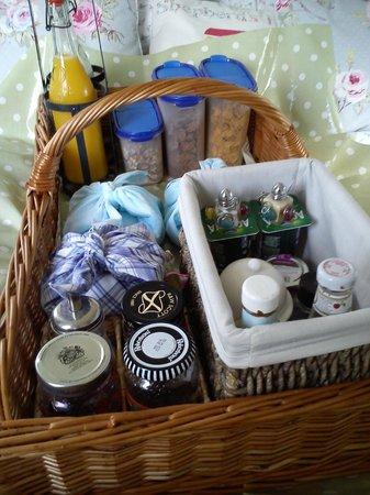 The Shepherd's House Bed & Breakfast: AMAZING breakfast hamper