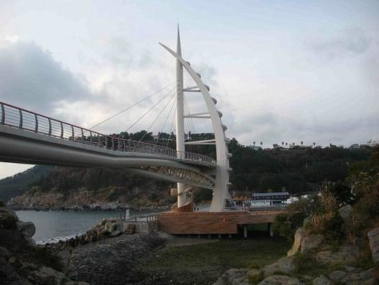 Seogwipo, South Korea: Saeyeon Bridge