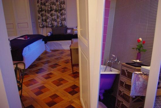 Hotel le Chalet: Romantique, la chambre de l 'ecrivain