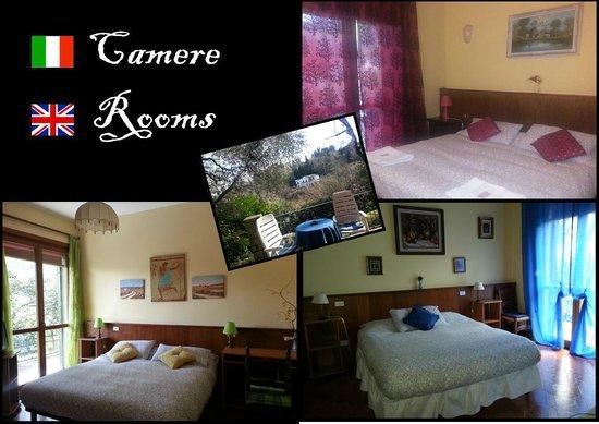 Villa Luna: camere