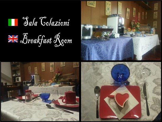 Villa Luna: sala colazioni
