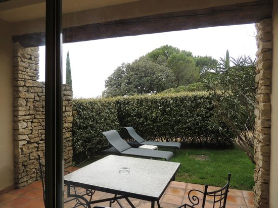 Hotel Les Bories & Spa : Terrace