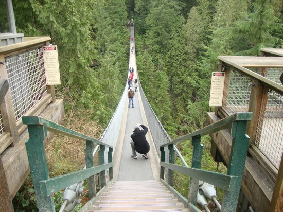 Capilano Suspension Bridge und Park: Capilano Suspension Bridge