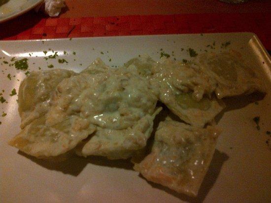 I' Toscano Restaurante Pizzeria: Ravioli Espinaca y ricota