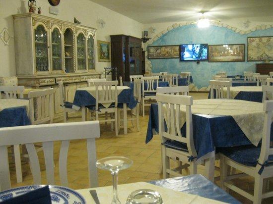 Agriturismo Montupoli: sala pranzo