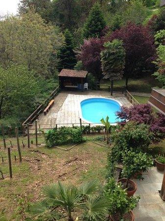 Agriturismo Il Morsetto : la piscina nel parco