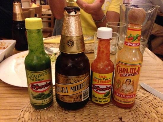Mokos Mexican Restaurant: heat !!!