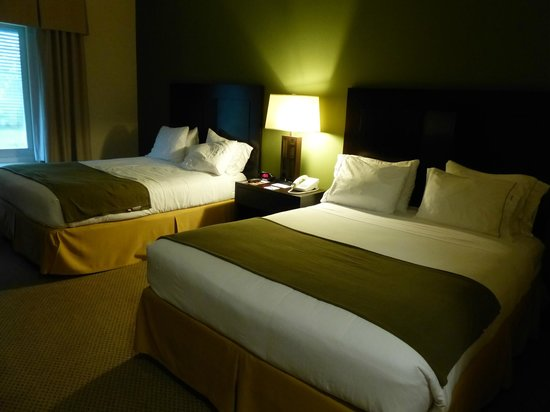 The Holiday Inn Express & Suites Marathon: chambre