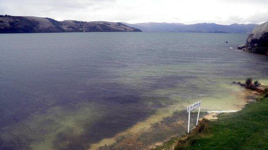 Cabaña Buenavista lago de Tota: View from the restaurant