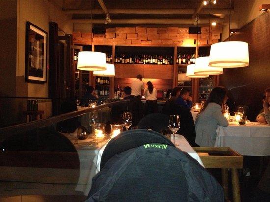 Terra: Fra den hyggelige restaurant på 1 sal