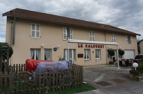 Le Galoubet : The hotel