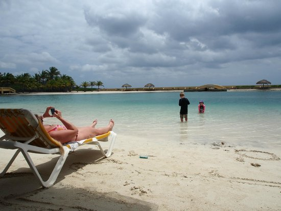 Parrot Tree Beach Resort: The Man-Made Bay