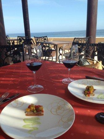 Grand Solmar Land's End Resort & Spa: Red wine pairing