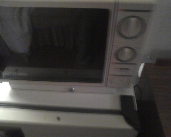 Country Hearth Inn & Suites Atlanta / Marietta and Banquet Hall: microwave that is only manually opearted, you can't press for a specific time, only with the kno