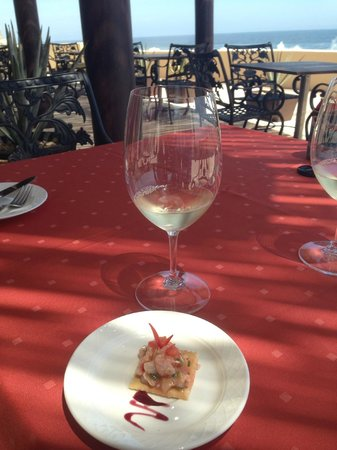 Grand Solmar Land's End Resort & Spa: Another white wine pairing