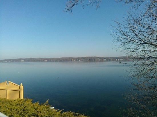 Geneva Inn: View from the patio