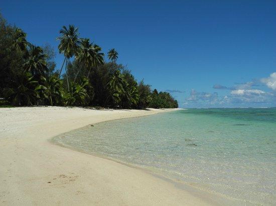 Castaway Resort: Strandabschnitt 20 Minuten südlich des Resorts