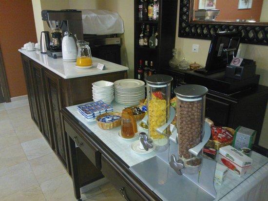 Hotel Casona de Lazurtegui: Buffet