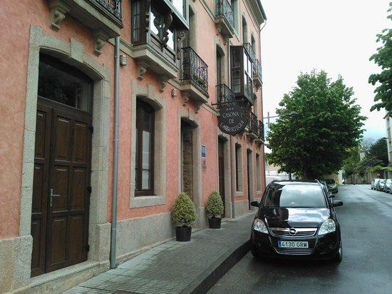 Hotel Casona de Lazurtegui: Entrada