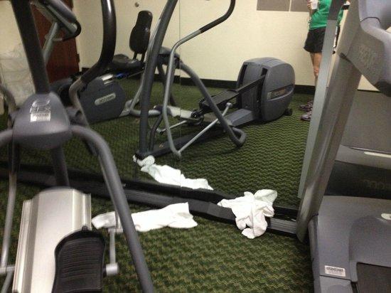 Fairfield Inn Albany University Area: Dirty gym