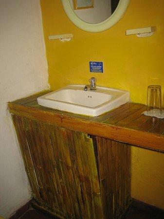 Gavilan Sarapiqui River Lodge: Waschbecken