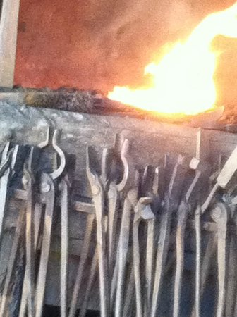 Old Bethpage Village Restoration: A hot fire for the blacksmith