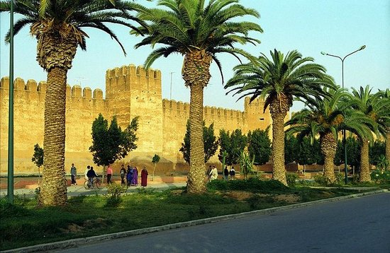 Taroudant, Marruecos: City walls