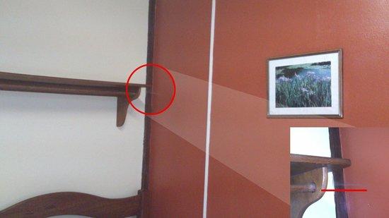 Hotel Cachoeira Do Urubui: Inconvenientes - Quarto