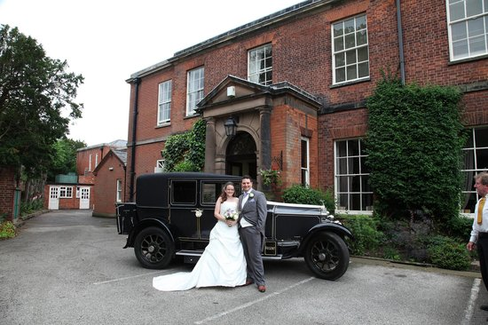 Dovecliff Hall Hotel: Arrival