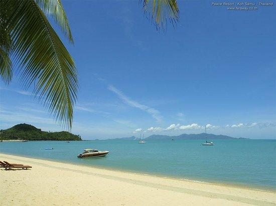 Μποφούτ, Ταϊλάνδη: Bophut beach