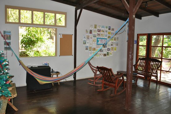 The Peace Project Hostel : Area to Relax