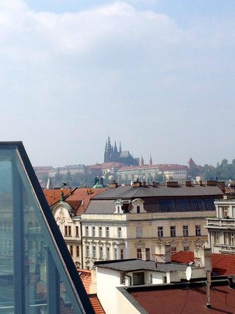 Design Hotel Josef Prague: View from Room 806 terrace