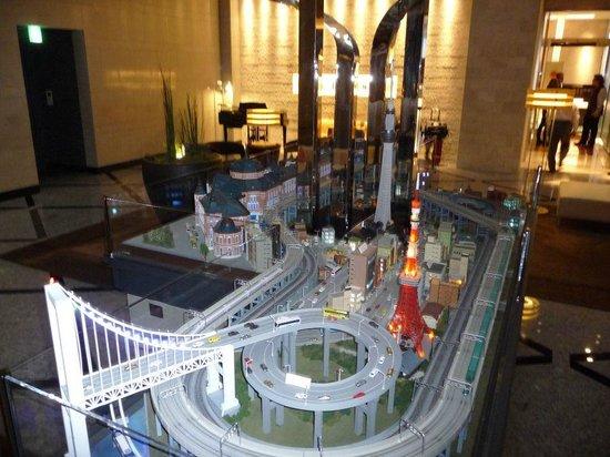 Hotel Metropolitan Tokyo Marunouchi: Marunouchi Hotel City Model train