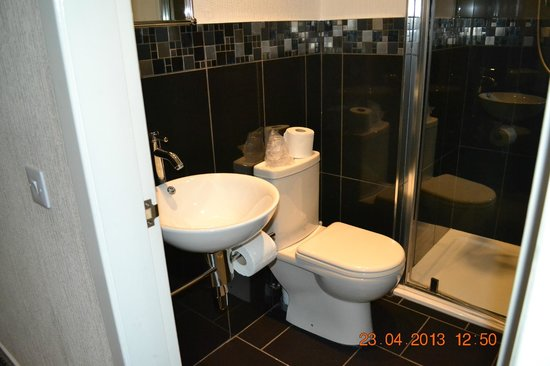 Royal Hotel: Sink & Toilet