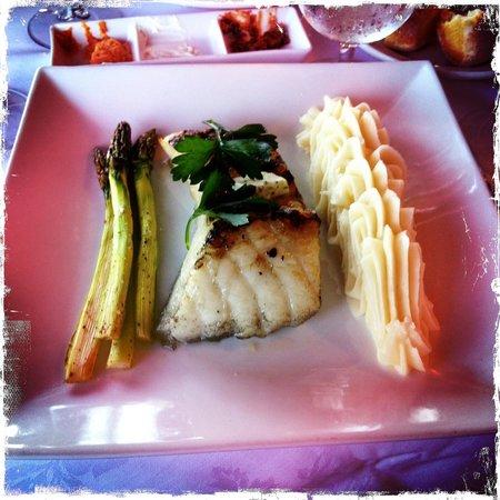 Pink Elephant: Chilean sea bass dinner - yummy