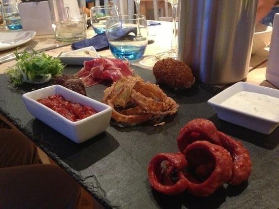 Three Buoys: Meat sharer platter