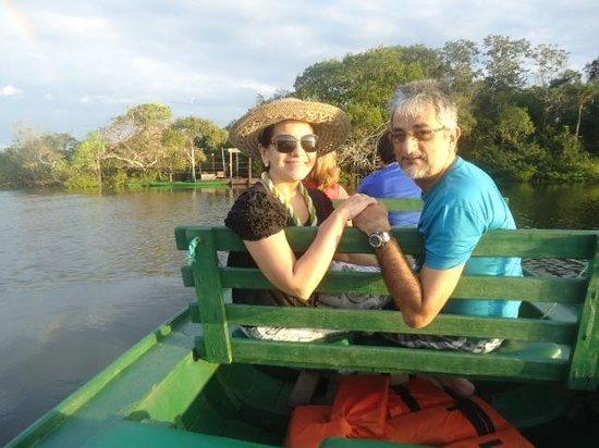 Juma Amazon Lodge: Passeio para assistir o nascer do sol.