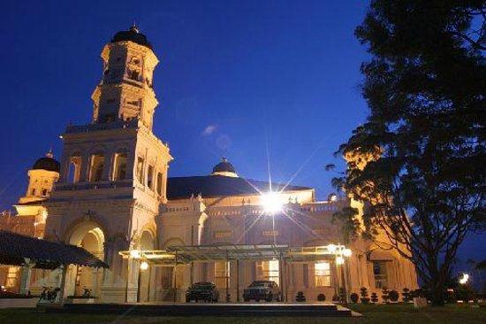 Johor Bahru, Malaisie : Sultan Abu Bakar Mosque