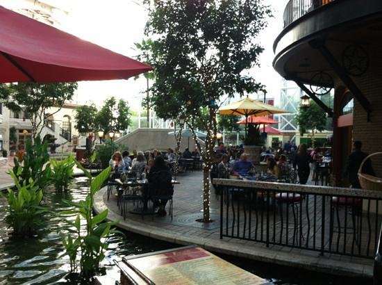 "Riverwalk Cantina: along ""the river"""