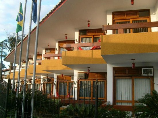 Casa Blanca Park Hotel: Area Externa do Hotel